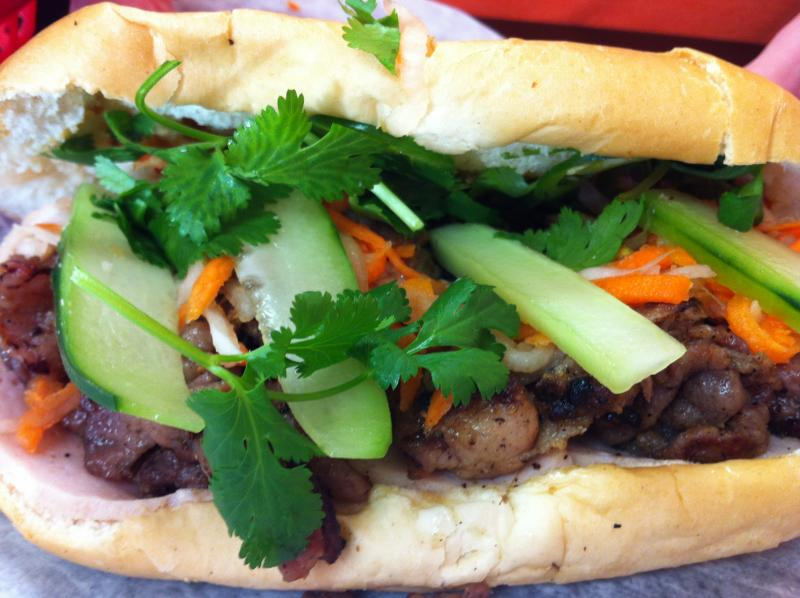 Banh Mi Barista's namesake dish, banh mi, is just one of Fort Wayne's fantastic array of Vietnamese food offerings, according to Amber Recker.