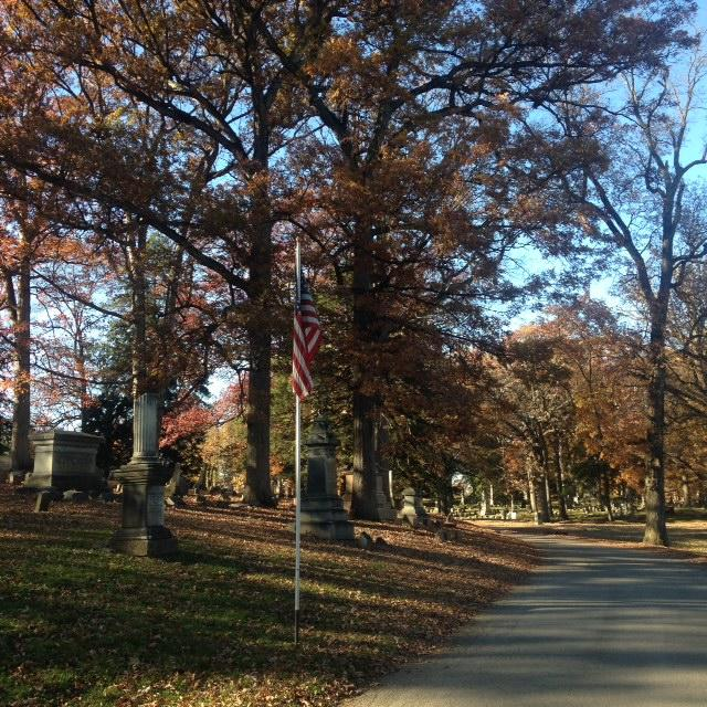 Lindenwood stretches 175 acres and has over 69,000 graves