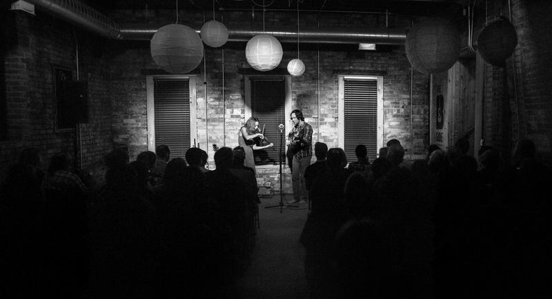 Mandolin Orange performs at The B-Side earlier this year.