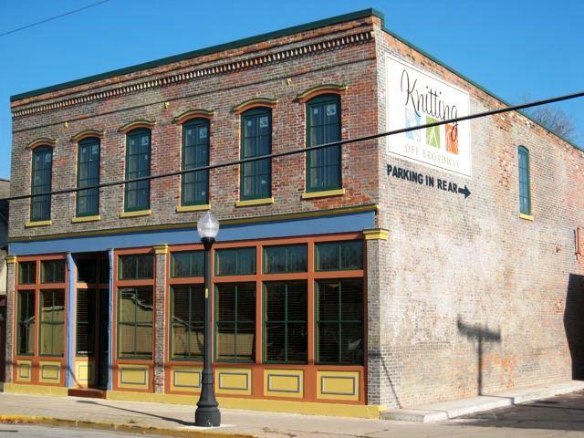Knitting Off Broadway is on 1309 Broadway in Fort Wayne.