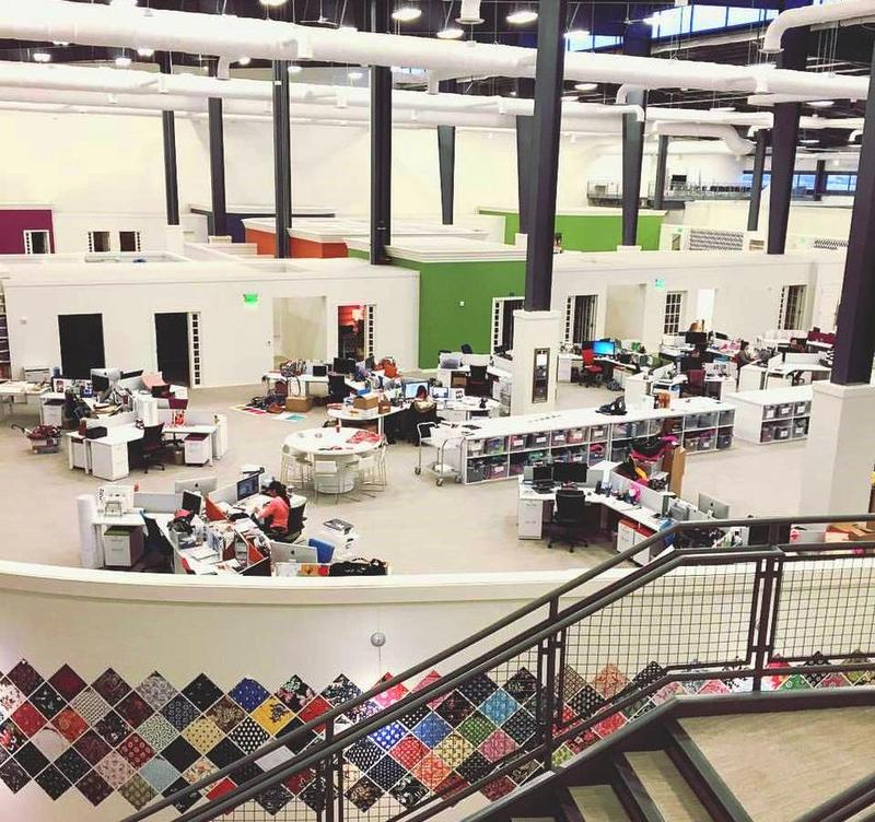 One of Design Week Fort Wayne's 40+ featured events is a tour of the Vera Bradley Design Center.