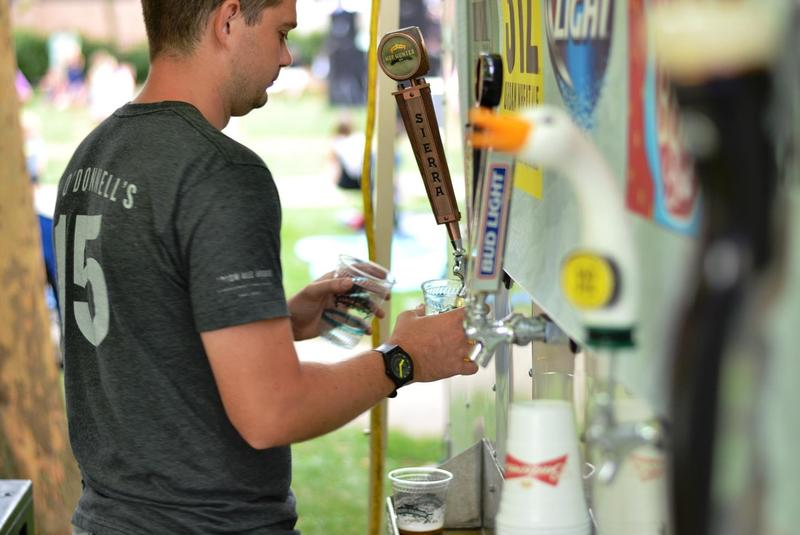 If you're feeling thirsty, local beers will also be available for purchase