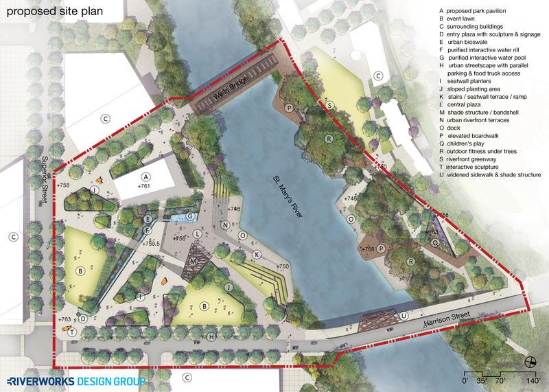 Fort Wayne Unveils Proposed Riverfront Development Design ...