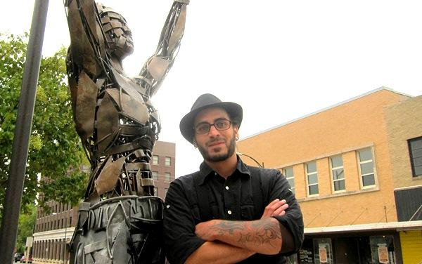 Greg Mendez is a professional sculptor and Decature native with a passion for public artwork.
