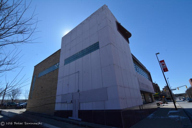 The outside of the building at 210 E. Jefferson Blvd.