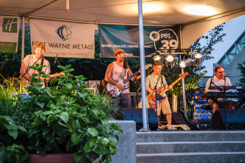 An eclectic pairing of national and local acts insure a fresh and exciting vibe for every Friday night concert.