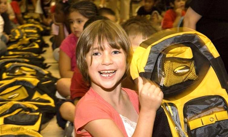 Elementary students at four Fort Wayne Community Schools are guaranteed a hunger-free weekend, thanks to Blessings in a Backpack