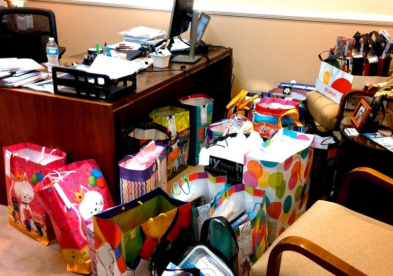 "Office ""spill-over"" is a happy problem to have when the bags start rolling in!"