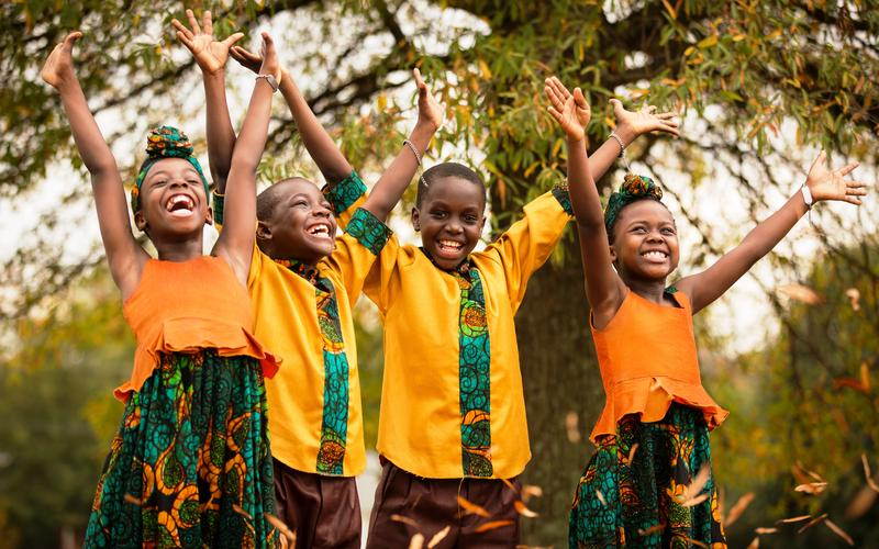 African Children's Choir Group 46 is heading for Harlan and Berne, Indiana to share their message of hope for Africa's future.