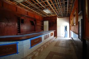 Another interior view of the renovation in progress