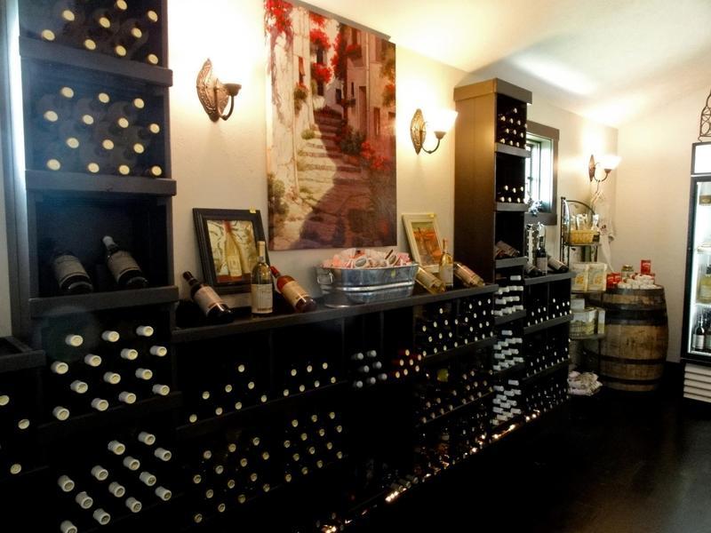 Inviting interior at Cedar Creek Winery