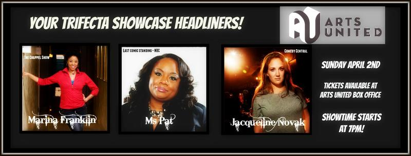 """This year's """"Trifecta of Headliners"""" at the Maumee, Mary & Joseph Comedy Festival"""