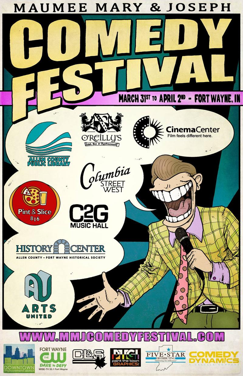 Fort Wayne's first-ever comedy fest makes its debut on April Fool's Day weekend.