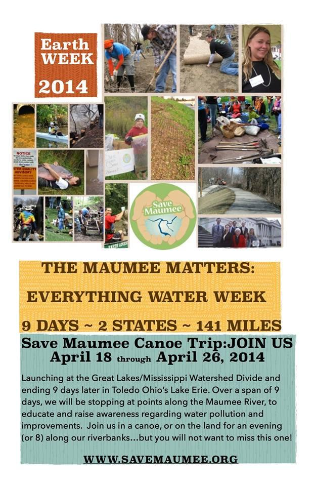 Save Maumee Earth Day 2017