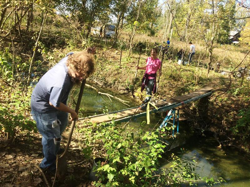 All part of restoring the Riparian Buffer Zones along the Maumee River
