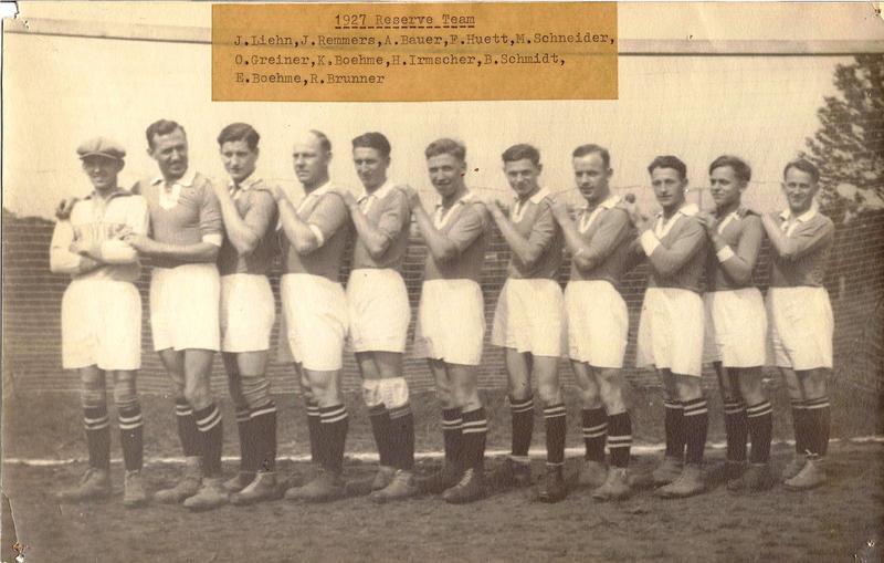 1927 reserve team