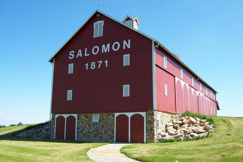 Salomon Farm Park's historic barn makes a perfect indoor setting for celebrating the fiber arts