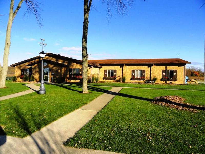 The current clubhouse, opened in 1967, was constructed by club members