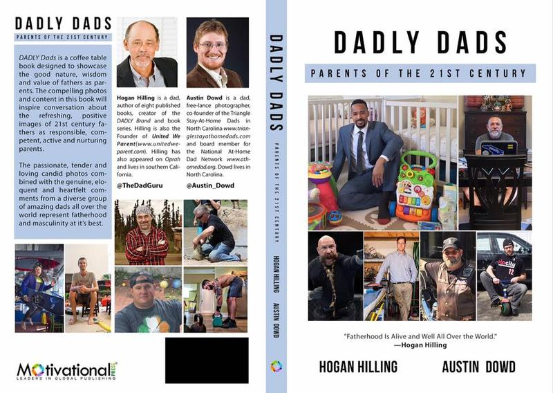 "Kaufeld is proud to included in Hogan Hilling's new book, ""Dadly Dads,"" as the Game Dad."