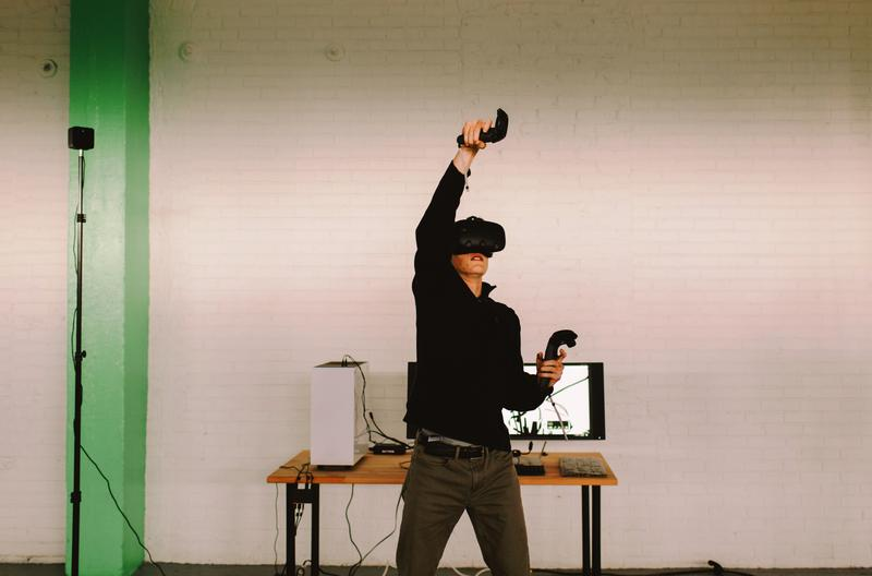 Sessions on the VR equipment will be available for booking in half-hour increments.
