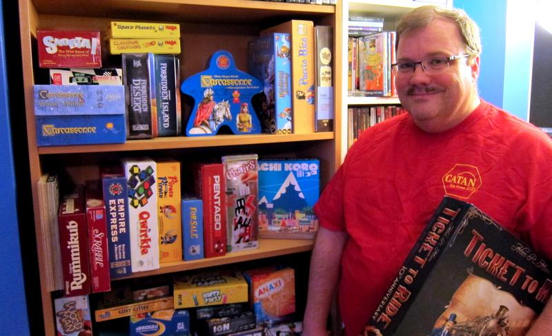 John Kaufeld uses board games to connect with his own family, and encourages others to do the same.