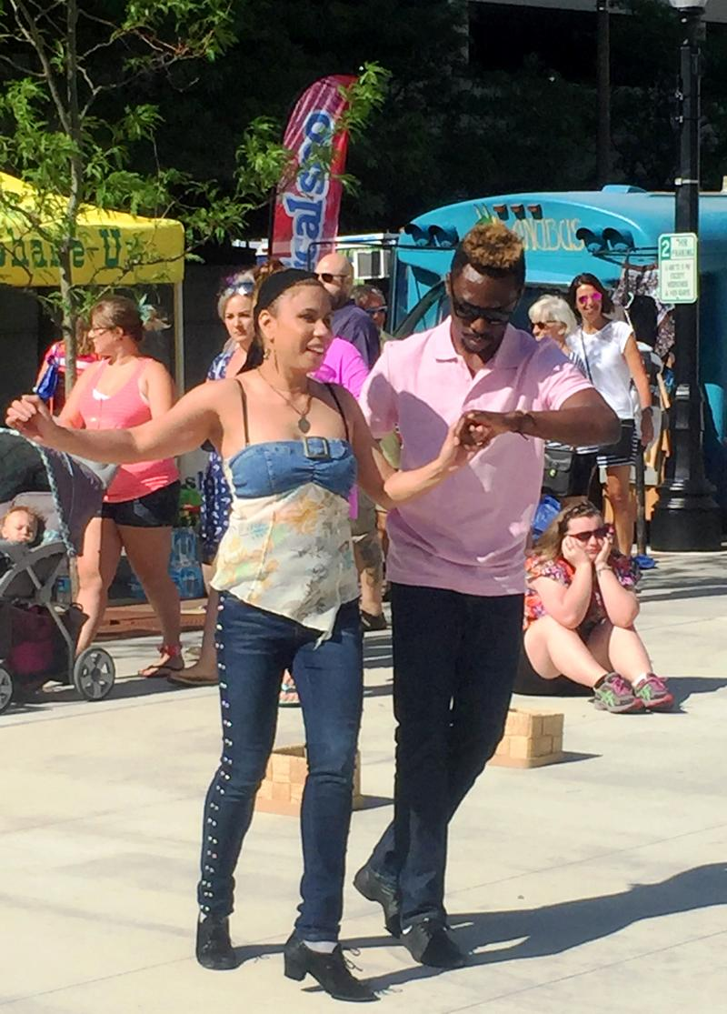 Salsa Lessons with Taiwo is one of the Dance Activity Hub Offerings