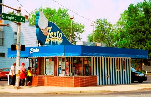 A view of Zesto on Broadway, taken in the last five years, speaks to the unchanging charm and character of this iconic Fort Wayne landmark.