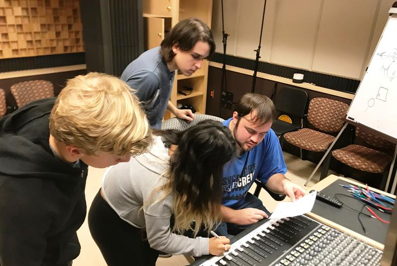 Another Music Technology class in session