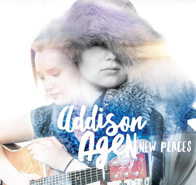 "Addison's first cd, ""New Places"""