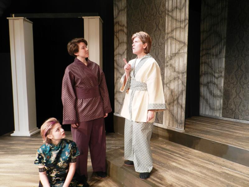 Ophelia, Laertes and Polonius