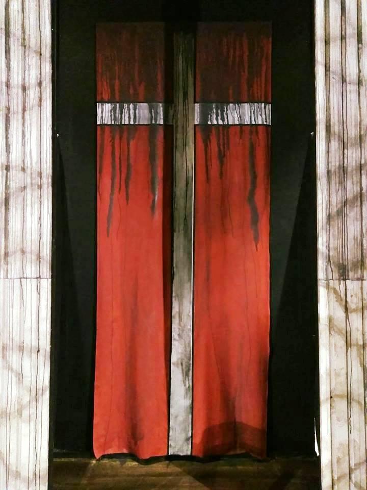Treachery lurks behind the curtain