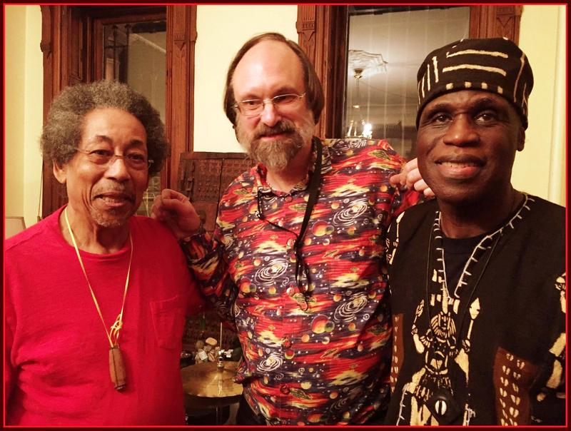The Tuba Trio, Warren Smith, Scott Robinson & Daley, ready for action.
