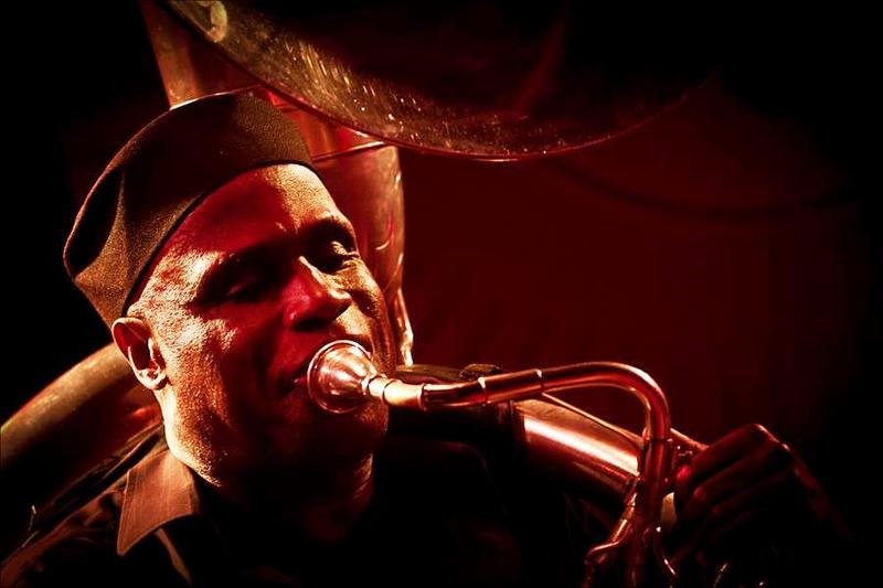 Joseph Daley, an original member of Howard Johnson's tuba ensemble, Gravity, has shared stages with legendary artists like Sam Rivers, Carla Bley, Gil Evans, Taj mahal and many more.