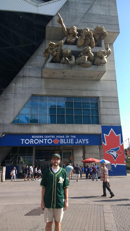Frank Vandeputte at Rogers Centre in Toronto