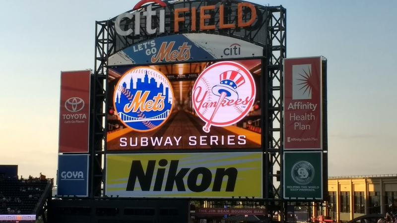 The Subway Series begins at Citi Field in Queens, NY