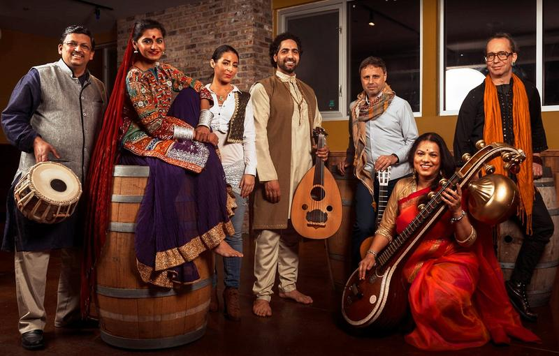 Surabhi co-founder, Randy Malley (center, with oud) hopes that their performance will enable the audience to view history through a lens that's seldom seen.