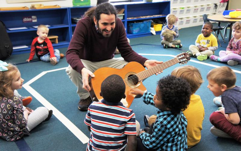 Cote Godoy believes that music, movement and imagination all come together through his Musical Conexion program, as a universal language.