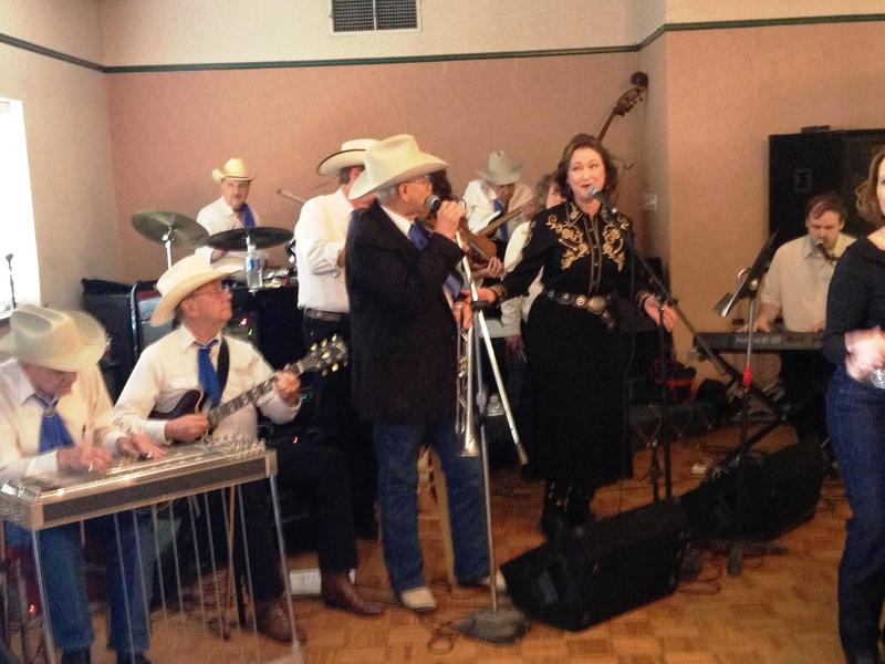 With the Cowtown Society of Western Music All Star Band