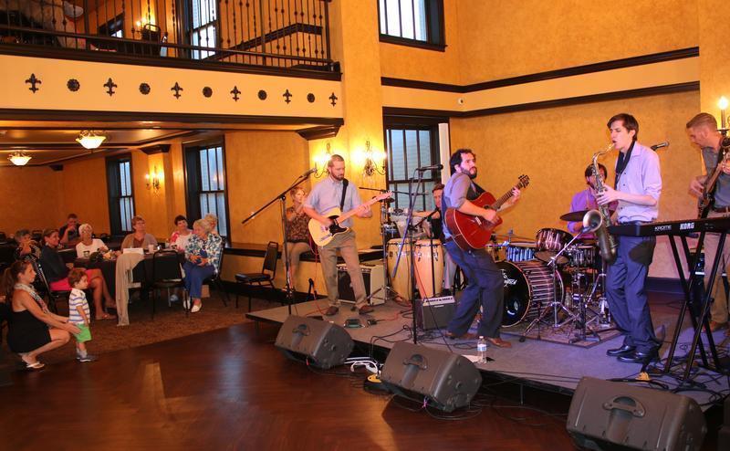 Fernando Tarango's band in concert at last year's Summer Nights series.