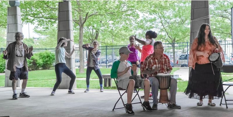 Drumming and dancing are festival highlights.
