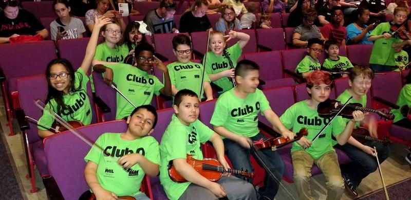 This year's Club O members proud of their budding musical skills, and ready to perform.