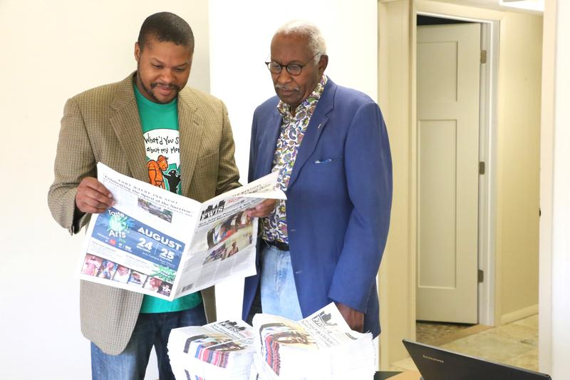 Bryant Rozier and John Dortch are excited to bring their fresh perspective on print journalism to the area with The Fort Wayne Ink Spot.