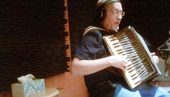 John Fecher rounding out the accordion contingent.