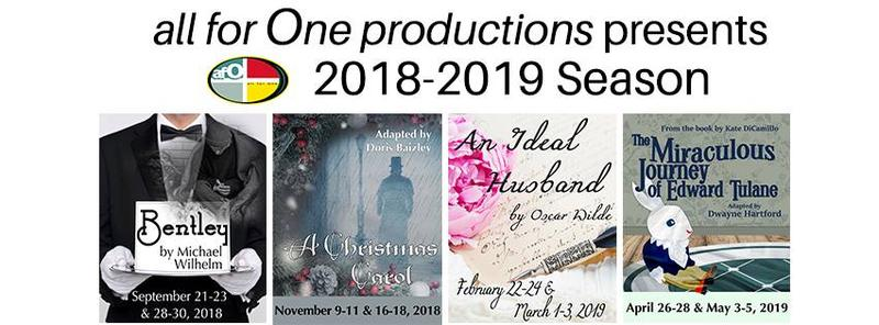 This year's all for One productions' offerings