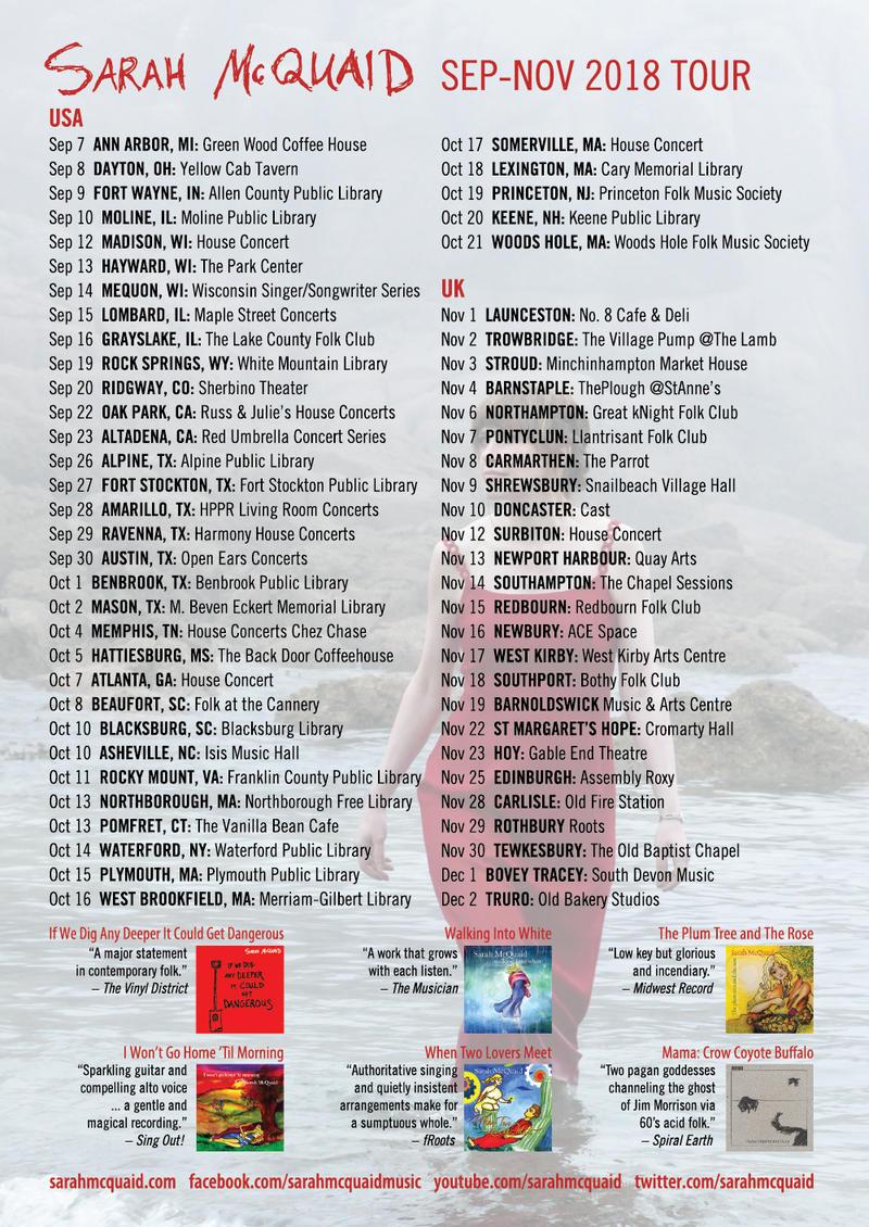 Sarah McQuaid's ambitious 2018 Tour