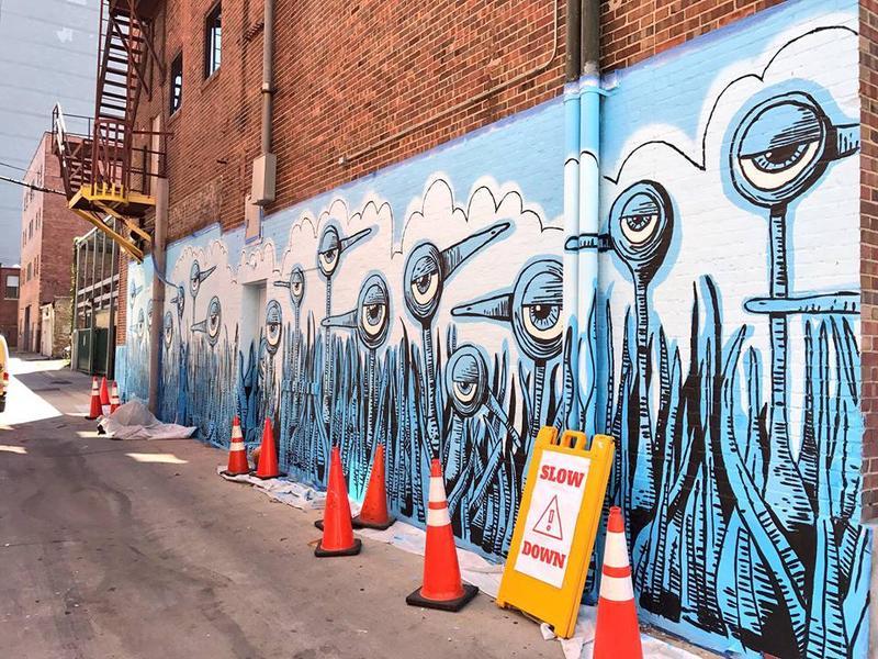 The mural mania  of Bryan Ballinger