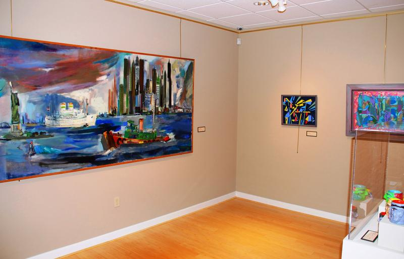 Another gallery shot of USF's Fishman exhibit.