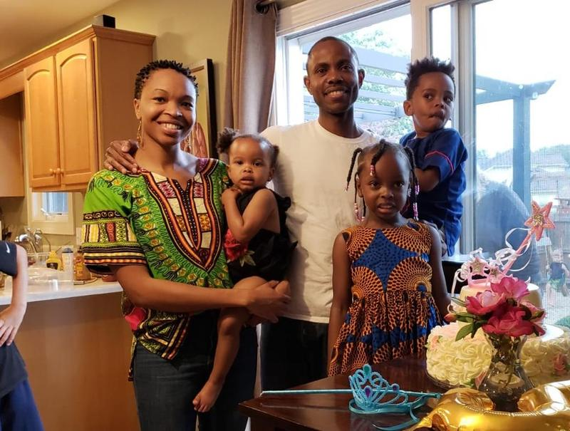 Nkonye and family