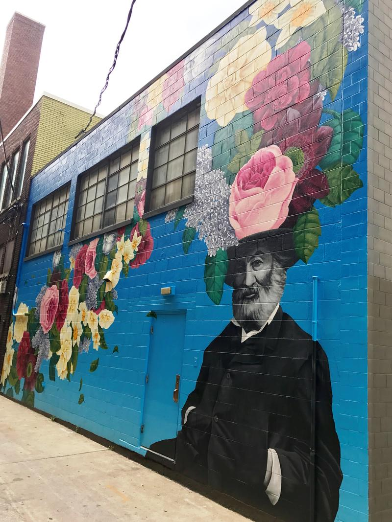 Tim Parsley's completed mural