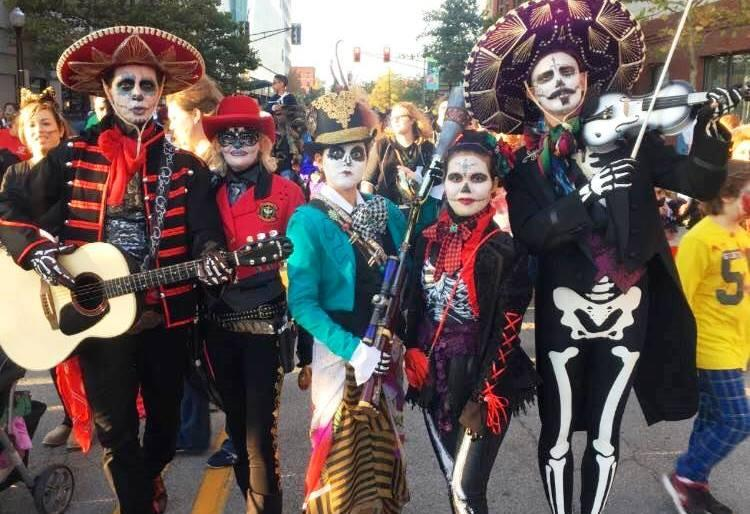Eager Dia Fort Wayne's participants will be sporting faces painted in calavera, or sugar skull motif.